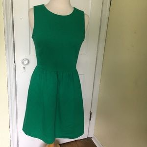 J. Crew Dresses - J. Crew Emerald green dress